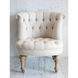 Amelie Buttoned Chair