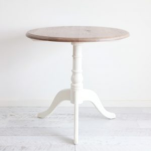 Oak & White Registry / Side Table