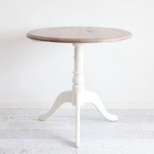 Oak & White Registry / Side Table