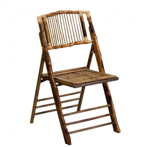 Natural Bamboo Folding Chair