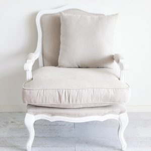 White Provence Armchair