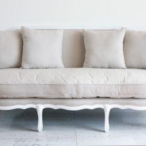 White Provincial Lounge