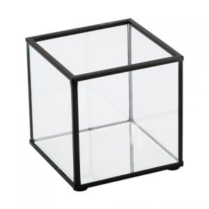 Candle Holder – Black Frame Small