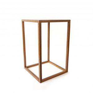 Natural Timber Bar Table