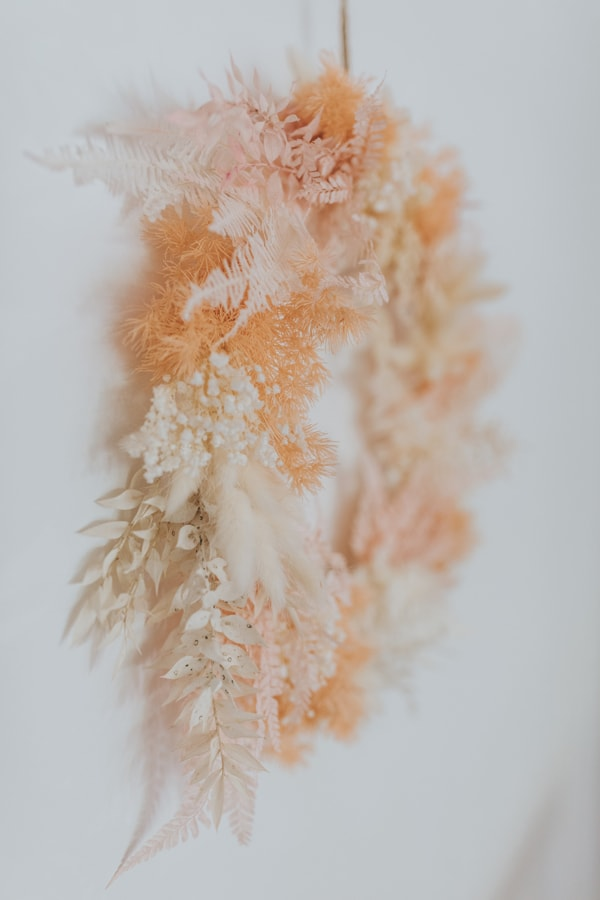 Dried floral wreath Sunshine Coast