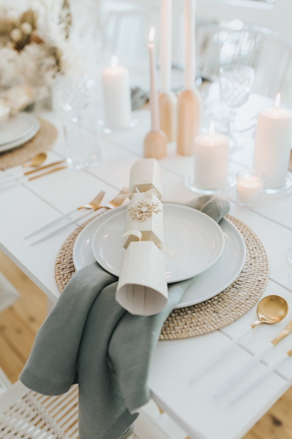 Christmas table setting Noosa