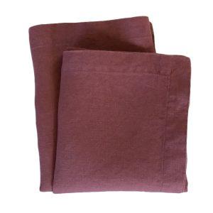 Linen Napkin – Plum