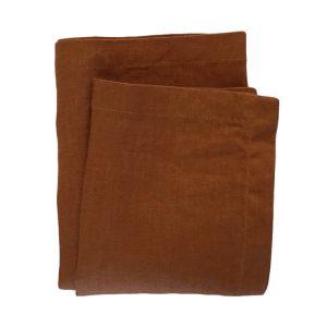 Linen Napkin – Rust