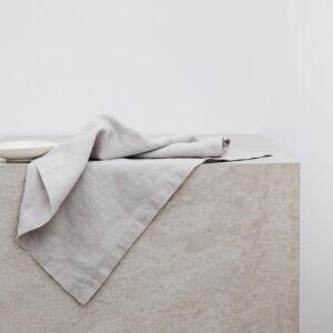 Linen Napkin – Dove Grey